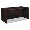basyx BL Laminate Series Rectangular Desk Shell, 60w x 30w x 29h, Mahogany