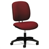 HON ComforTask Series Task Swivel Chair, Burgundy