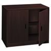 HON 10500 Series Storage Cabinet w/Doors, 36w x 20d x 29-1/2h, Mahogany