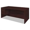 Valido 11500 Series Left Pedestal Desk, 72w x 36d x 29 1/2h, Mahogany