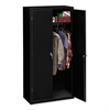 Assembled Storage Cabinet, 36w x 18-1/4d x 71-3/4h, Black