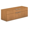 HON Voi Low Credenza, 2 Box/2 File Drawers, 60w x 20d x 21 1/2h, Harvest