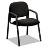 HON Solutions 4000 Series Seating Leg Base Guest Arm Chair, Black
