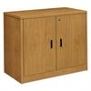 HON 10500 Series Storage Cabinet w/Doors, 36w x 20d x 29-1/2h, Harvest