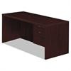 Valido 11500 Series Right Pedestal Desk, 66w x 30d x 29 1/2h, Mahogany