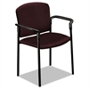 HON Pagoda 4070 Series Stacking Arm Chairs, Wine, 2/Carton
