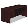 Valido 11500 Series Left Pedestal Desk, 66w x 30d x 29 1/2h, Mahogany