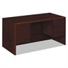 HON 10700 Series Desk, 3/4 Height Double Pedestals, 60w x 30d x 29 1/2h, Mahogany