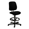 7700 Series Swivel Task stool, Black