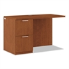 HON Arrive Left Return For Right Pedestal Desk, 48w x 24d x 29-1/2h, Henna Cherry