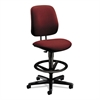 7700 Series Swivel Task stool, Burgundy