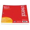 Filler Paper, 8 1/2 x 11, Wide Rule, White, 200 Sheets/Pack