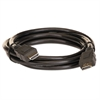 HDMI Cable, Gold Plated Ends, 6 ft, Black