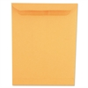 Universal Self-Stick File-Style Envelope, 12 1/2 x 9 1/2, Brown, 250/Box