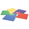 File Folders, 1/3 Cut Single-Ply Top Tab, Letter, Assorted, 100/Box