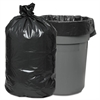 Waste Can Liners, 60gal, 38 x 58, .95mil, Gray, 25 Bags/Roll, 4 Rolls/CT