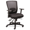 Alera Envy Series Mesh Mid-Back Multifunction Chair, Black