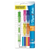 Paper Mate Clearpoint Mix & Match Mechanical Pencil, 0.7 mm, Assorted Color Tops