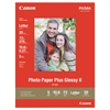 Canon Photo Paper Plus Glossy II, 8-1/2 x 11, 10.6 mil, White, 20 Sheets/Pack