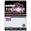 FIREWORX Colored Paper, 20lb, 8-1/2 x 11, Smoke Gray, 500 Sheets/Ream