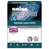 Boise POLARIS Premium Laser Paper, 97 Bright, 24lb, 8 1/2 x 11, White. 500 Sheets