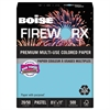 FIREWORX Colored Paper, 20lb, 8-1/2 x 11, Turbulent Turquoise, 500 Sheets/Ream