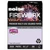 Boise FIREWORX Colored Paper, 20lb, 8-1/2 x 11, Luminous Lavender, 500 Sheets/Ream