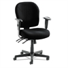 "Wrigley 24/7 High Performance Multifunction Chair, 38 5/8""h, Black"