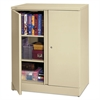 basyx Easy-to-Assemble Storage Cabinet, 36w x 18d x 42-3/4h, Putty
