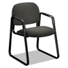 Solutions 4000 Series Seating Sled Base Guest Chair, Gray