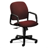 Solutions 4000 Series Seating High-Back Swivel/Tilt Chair, Burgundy