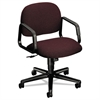 HON Solutions 4000 Series Seating Mid-Back Swivel/Tilt Chair, Burgundy