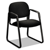 HON Solutions 4000 Series Seating Sled Base Guest Chair, Black