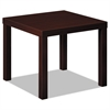basyx Laminate Occasional Table, 24w x 24d x 20h, Mahogany