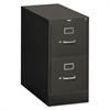 HON 310 Series Two-Drawer, Full-Suspension File, Letter, 26-1/2d, Charcoal