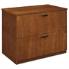 basyx BW Veneer Series Two-Drawer Lateral File, 36 x 24 x 29,Bourbon Cherry