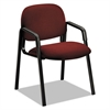 HON Solutions 4000 Series Seating Leg Base Guest Arm Chair, Burgundy