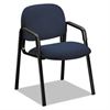 Solutions 4000 Series Seating Leg Base Guest Arm Chair, Blue