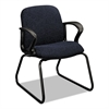 HON Gamut Series Sled Base Guest Chair, Black