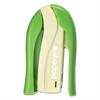 PaperPro inSHAPE 15 Compact Stapler, 15-Sheet Capacity, Green