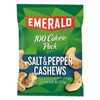 Emerald 100 Calorie Pack Nuts, Salt & Pepper Cashews, 0.62 oz Pack, 12/Box