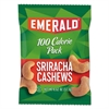 Emerald 100 Calorie Pack Nuts, Sriracha Cashews, 0.62 oz Pack, 7/Box