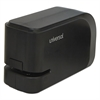 Universal Electric Half-Strip Stapler w/Staple Channel Release, 20-Sheet Capacity, Black