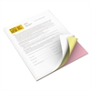Xerox Vitality Multipurpose Carbonless Paper, Three-Part, Letter, Pink/Canary/White