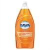 Liquid Dish Detergent, Antibacterial, Orange Scent, 34.2 oz Bottle