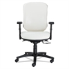 Eon Series Multifunction Mid-Back Stain Resistant Upholstery Chair, White