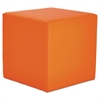 Alera Alera WE Series Collaboration Seating, Cube Bench, 18 x 18 x 18, Mandarin