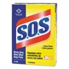 S.O.S. Steel Wool Soap Pad, 15 Pads/Box, 12 Boxes/Carton