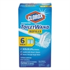 Clorox Disinfecting ToiletWand Refill Heads, Blue/White