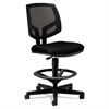 HON Volt Series Mesh Back Adjustable Task Stool, Black